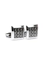 Grazie Filipeti Diamonds Cube Cufflinks