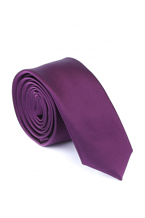 Cravata Slim violet din matase