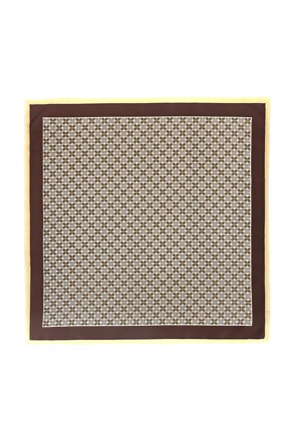 aa6e0b860 Ivory Pocket Square With Dots ...