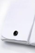 Camasa de ceremonie cu butoni si nasturi ascunsi