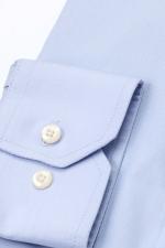 Camasa albastra pentru barbati cu nasturi din perla