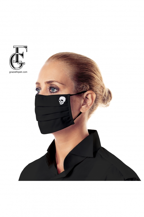 2-Layer Face Mask (black death)