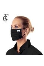 2-Layer Face Mask (black death)